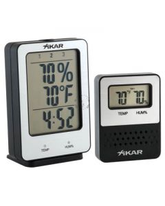 Xikar PuroTemp Wireless Hygrometer System (Base Unit with 1 Remote Sensor)