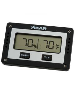 Xikar Slim Rectangular Digital Hygrometer
